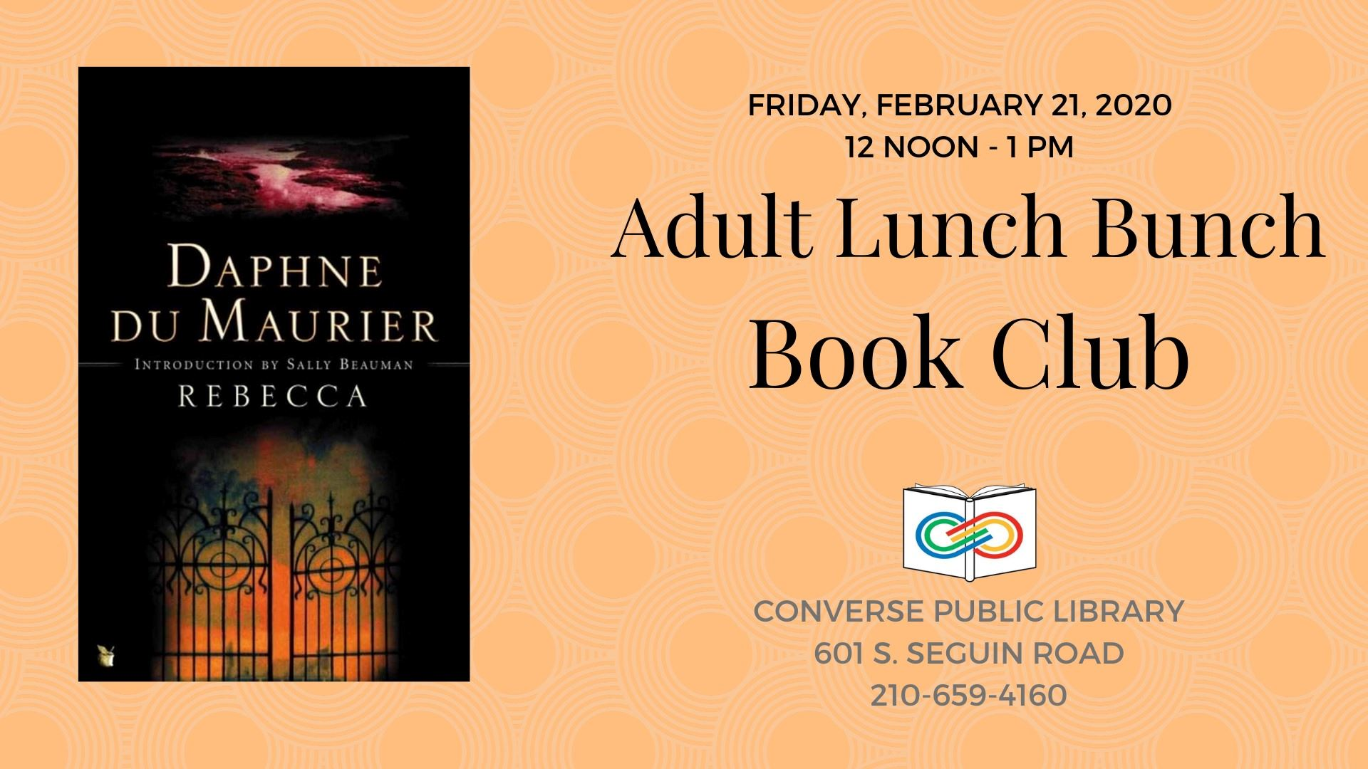 Adult Lunch Bunch Book Club